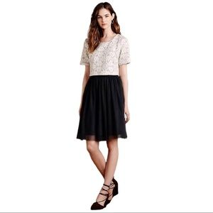WESTON (Anthropologie) Lace Tulle Dress Size Small